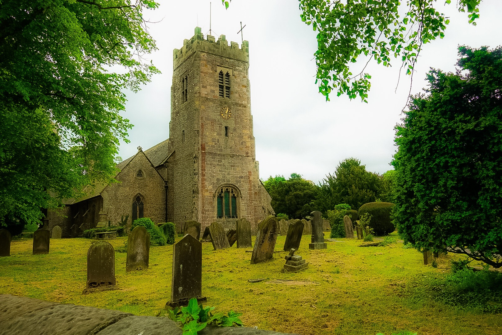 Church at Bolton on Swale