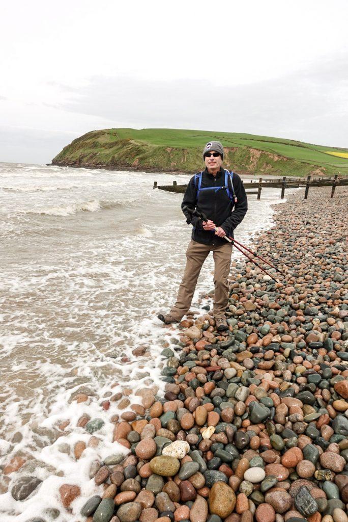 Boot in Irish Sea