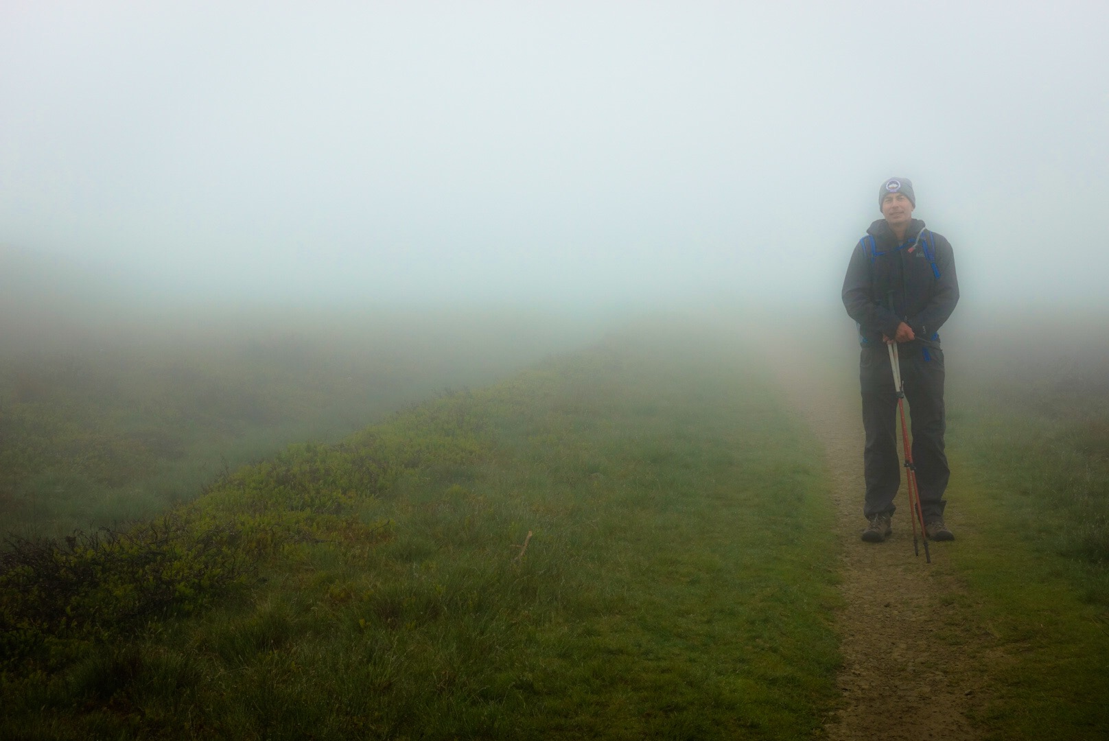 Joel in Fog