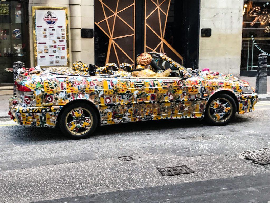 Car in London