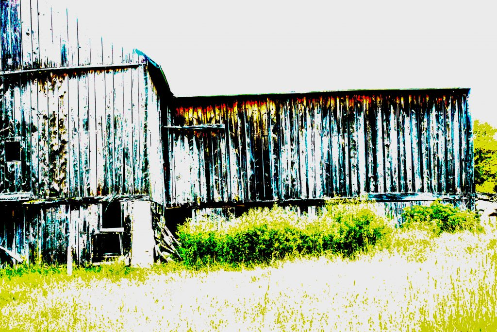 Old Barn - Textured!