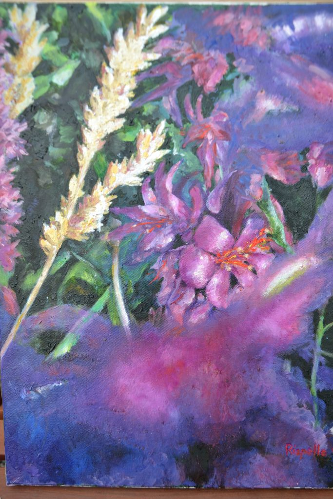 Wild Flowers - Oil on Canvas