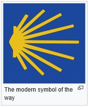 Symbol of the Way of St James