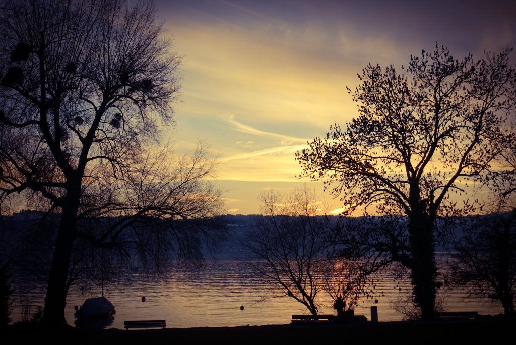 Lake Zurich at Männedorf